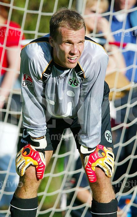 Fussball 1. Bundesliga Saison 2004/2005  Torwart Robert ENKE Hannover 96