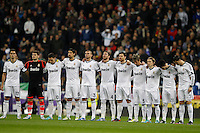 16.12.2012 SPAIN -  La Liga 12/13 Matchday 16th  match played between Real Madrid CF vs  RCD Espanyol (2-2) at Santiago Bernabeu stadium. The picture show