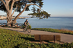 Bicycling West Cliff Drive in Santa Cruz