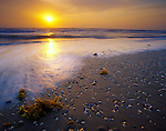 Padre Island National Seashore, TX<br /> Sunrise on the Texas gulf coast