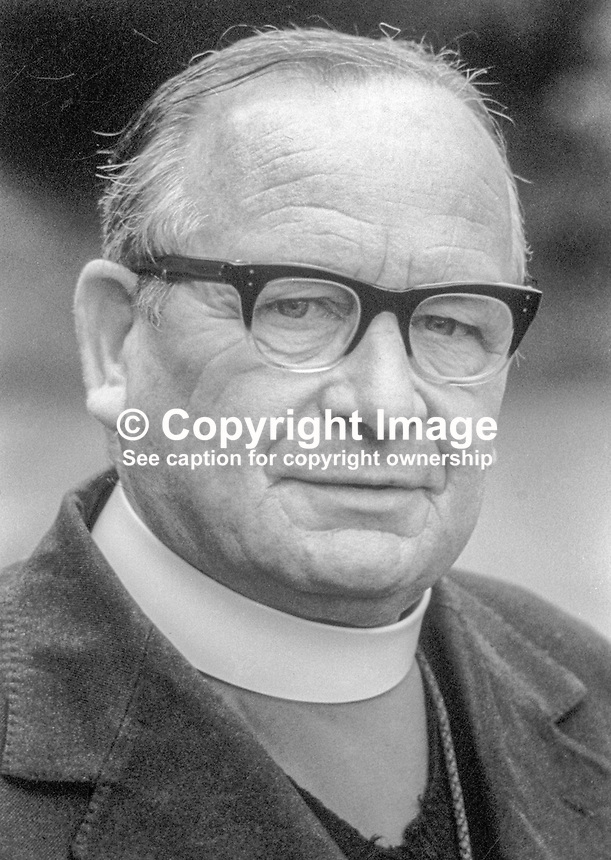 Rt Rev Robert William Heaveren, Church of Ireland, Anglican Communion, Bishop of Clogher, N Ireland &amp; Rep of Ireland, June, 1978, 197806000188<br />