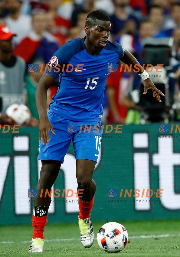 Paul Pogba (France) <br /> Marseille 07-07-2016 Stade Velodrome Football Euro2016 Germany - France / Germania - Francia Semi-finals / Semifinali <br /> Foto Matteo Ciambelli / Insidefoto