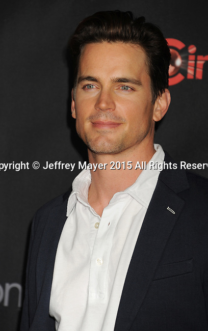 LAS VEGAS, CA - APRIL 21: Actor Matt Bomer arrives at Warner Bros. Pictures Invites You to ?The Big Picture at The Colosseum at Caesars Palace during CinemaCon, the official convention of the National Association of Theatre Owners, on April 21, 2015 in Las Vegas, Nevada.