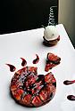 09/11/12 - PONT D ALLEYRAS - HAUTE LOIRE - FRANCE - Etablissement Le Haut Allier. Recette preparee par Philippe Brun, une etoile au Michelin - Photo Jerome CHABANNE