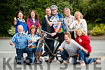 The charities, who will benefit from this year's Ring of Kerry Cycle, pictured at the Gleneagle Hotel, Killarney on Friday last were front l-r: Con Cremin (Talbot Grove) Sheila Power (Down Syndrome Kerry), Angie McNulty (Temple Street Children's University Hospital) and Helen Wilson (Derrynane Inshore Rescue). Back l-r: Agnes Rooney (Buy a Bus Campaign Kerry Parents and Friends) Rona O'Regan (Talbot Grove), Kenneth Reynolds (Recovery Haven, Kerry) Cathal Walsh (Ring of Kerry Charity Cycle Committee), PJ O'Sullivan (Valentia Hospital) and Vera O'Leary (Kerry Rape and Sexual Abuse Centre).
