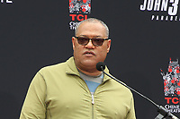 HOLLYWOOD, CA - MAY 14: Laurence Fishburne, at the Keanu Reeves Hand And Foot Print Ceremony at the TCL Chinese Theatre IMAX in Hollywood, California on May 14, 2019. <br /> CAP/MPIFM<br /> &copy;MPIFM/Capital Pictures