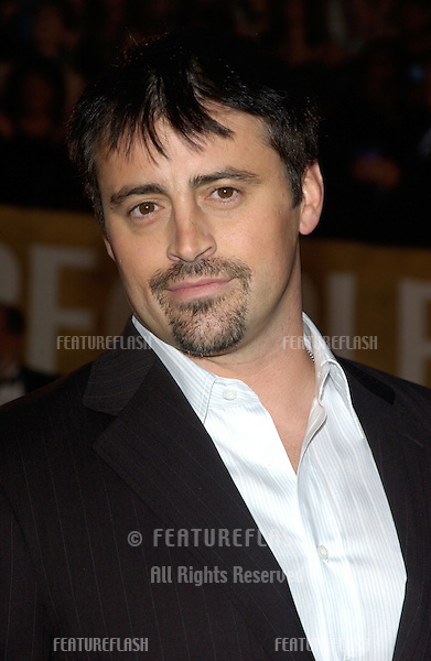 MATT LEBLANC at the 30th Annual People's Choice Awards in Pasadena, CA..January 11, 2004
