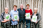 At Tralee Tidy Towns awards presentation in the Rose Hotel on Monday were Best Gardens - Mary Redmond, Spa Road, Irene O'Donnell, Oakpark,  Frank Hartnett, KCC, Brenda O'Connell, Killeen Heights, Ina Healy,  Spa Road