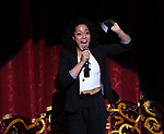 Lilli Cooper on stage during The Fourth Annual High School Theatre Festival at The Shubert Theatre on March 19, 2018 in New York City.