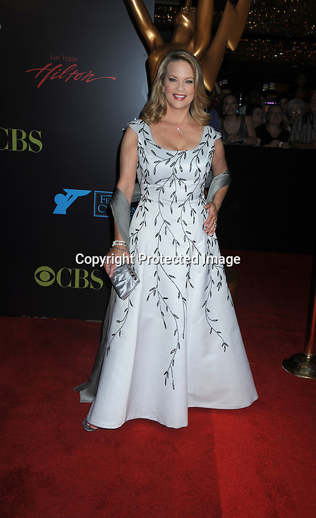 LeAnne Hunley  arriving to the 37th Annual Daytime Emmy Awards on June 27, 2010 .at the Hilton in Las Vegas, Nevada.