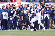 Philadelphia, PA - December 8, 2018: Army Black Knights running back Kell Walker (5) runs the ball during the 119th game between Army vs Navy at Lincoln Financial Field in Philadelphia, PA. (Photo by Elliott Brown/Media Images International)