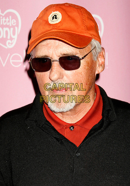 "DENNIS HOPPER.""My Little Pony Live!"" Los Angeles Premiere held at the Kodak Theater, Hollywood, California, USA..March 14th, 2007.headshot portrait goatee facial hair baseball cap hat sunglasses shades .CAP/ADM/RE.©Russ Elliot/AdMedia/Capital Pictures"
