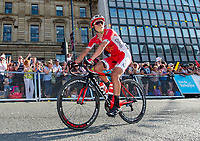Picture by SWpix.com - 06/05/2018 - Cycling - 2018 Tour de Yorkshire - Stage 4: Halifax to Leeds - Yorkshire, England - Cofidis' Mathias Le Turnier.