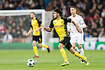 Borussia Dortmund Mahmoud Dahoud in action during the Europe Champions League 2017-18 match between Real Madrid and Borussia Dortmund at Santiago Bernabeu Stadium on 06 December 2017 in Madrid Spain. Photo by Diego Gonzalez / Power Sport Images