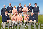 GOLF: The Parknasilla Golf team who played Ardfert Golf team in the Nines of Kerry Shield at Tralee Golfclub on Saturtday, Front l-r: Jim O'Sullivan, Teresa Walsh, Barbara Murray, Liz Mc Carthy and Ger O'Mahony. Back l-r: Jim McLoughlin (Kerry Federation Golf), Mike Merrill, Mary Reynolds, Sean McCarthy (manager),Theresa O'Leary, patrick Casey and Ger O'Connor (KFG).