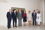 08.10.2012. Spanish Royals, Juan Carlos and Sofia, preside the ceremony commemorating the 20th anniversary of the Thyssen-Bornemisza Museum located in the Villahermosa Palace, in Madrid, Spain. In the image (L to R) Spanish culture minister Jose Ignacio Wert, Madrid Regional President Ignacio Gonzalez, King Juan Carlos of Spain, Queen Sofia of Spain, Baroness Carmen Thyssen-Bornemisza, President of the Spanish parliament Jesus Posada and Mayor of Madrid Ana Botella. (Alterphotos/Marta Gonzalez)