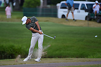Thorbjorn Olesen (DEN) hits his second shot into the water on 12 during round 4 of the WGC FedEx St. Jude Invitational, TPC Southwind, Memphis, Tennessee, USA. 7/28/2019.<br /> Picture Ken Murray / Golffile.ie<br /> <br /> All photo usage must carry mandatory copyright credit (© Golffile | Ken Murray)