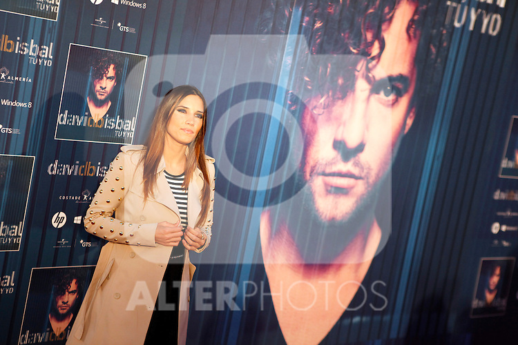 Spanish singer India Martinez attends David Bisbal´s new music album premiere photocall at Callao cinema in Madrid, Spain. March 17, 2014. (ALTERPHOTOS/Victor Blanco)