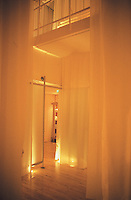 Spa at the St Martins Lane Hotel in London designed by philippe stark. 08-02