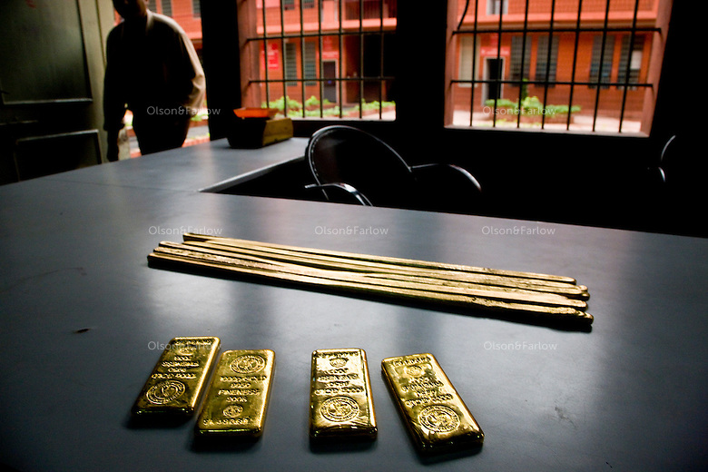 Rajesh Exports Limited is the biggest exporter of gold in the world.  They are also the only private company allowed to import gold into India.  They move 70-75 metric tons of product out of their factory every year.  A standard number for waste in their industry is 3 to 3.5 percent.  Their waste is only .3 percent.  There are over a thousand people working in a huge building that resembles a prison.  95 percent of them also live in company housing.  They go to great efforts to not lose any gold... including a sewage plant.  So if any of the worker ingest gold in any way... when they poop it out, it is recovered...All Indians own about 17,000 metric tons of gold.  That is the second largest to the central banks that own 32,000 tons.  It is cultural, but also the rural areas have not had good banking systems... the tax rates have been high historically... including a death tax that took everything under the moguls... so gold is hoarded... off the books... the only thing Indians think has real value..