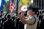 Members of the Reed High School Navy JROTC perform in the Nevada Day parade in Carson City, Nev. on Saturday, Oct. 27, 2012. .Photo by Cathleen Allison