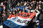 08.03.2020: Ross County v Rangers: Rangers fans