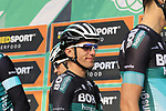 Rafal Majka (POL) Bora-Hansgrohe at sign on before the start of the 112th edition of Il Lombardia 2018, the final monument of the season running 241km from Bergamo to Como, Lombardy, Italy. 13th October 2018.<br /> Picture: Eoin Clarke | Cyclefile<br /> <br /> <br /> All photos usage must carry mandatory copyright credit (© Cyclefile | Eoin Clarke)