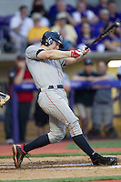 Georgia Bulldogs first baseman Jared Walsh #21 swings the bat during the Southeastern Conference baseball game against the LSU Tigers on March 22, 2014 at Alex Box Stadium in Baton Rouge, La. The Tigers defeated the Bulldogs 2-1. (Andrew Woolley/Four Seam Images)