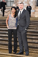 "Konnie Huq and Charlie Brooker<br /> arriving for the world premiere of ""Our Planet"" at the Natural History Museum, London<br /> <br /> ©Ash Knotek  D3491  04/04/2019"
