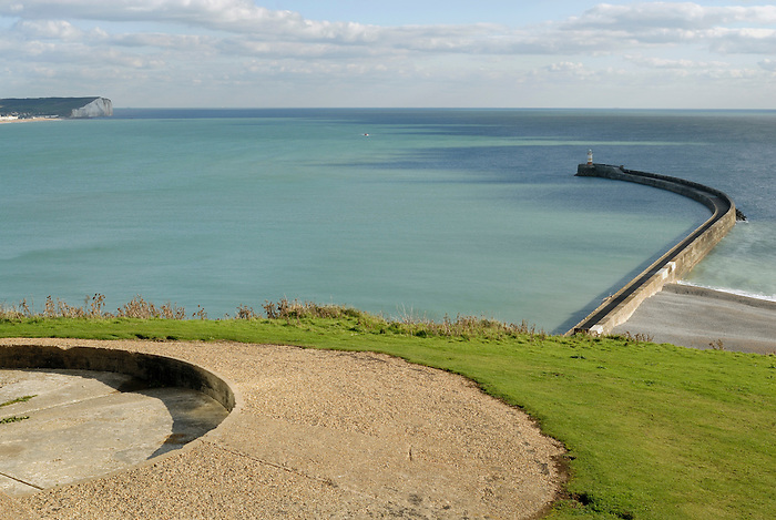 View from Castle Hill, Newhaven.