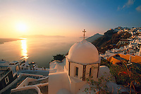 Fira, Island of Santorini, The Cyclades, Greece