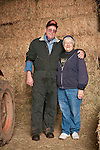Families gather after Christmas at the Cuneo Ranch in California's Mother Lode. Mike and Thelma.