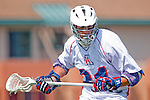 Los Angeles, CA 03/20/10 - Nick Gizzi (Arizona # 31) in action during the Arizona-Loyola Marymount University MCLA game at Leavey Field (LMU).  LMU defeated Arizona 13-6.