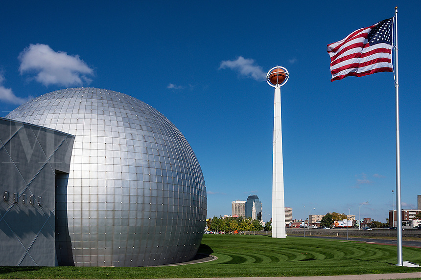Naismith Memorial Basketball Hall of Fame, Springfield, Massachusetts, USA