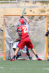 San Diego, CA 05/21/11 - Spencer Schmitt (Cathedral Catholic #22) in action during the 2011 CIF San Diego Section Division 2 Varsity Lacrosse Championship between Cathedral Catholic and Coronado.