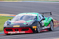 VALENCIA, SPAIN - OCTOBER 2: Max Blancardi during Valencia Ferrari Challenge 2015 at Ricardo Tormo Circuit on October 2, 2015 in Valencia, Spain