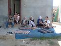 Turkey 2011    <br /> A Kurdish family sitten in front their house in Dogubayazit <br /> Turquie 2011 <br /> Une famille kurde assise devant leur maison a Dogubayazit