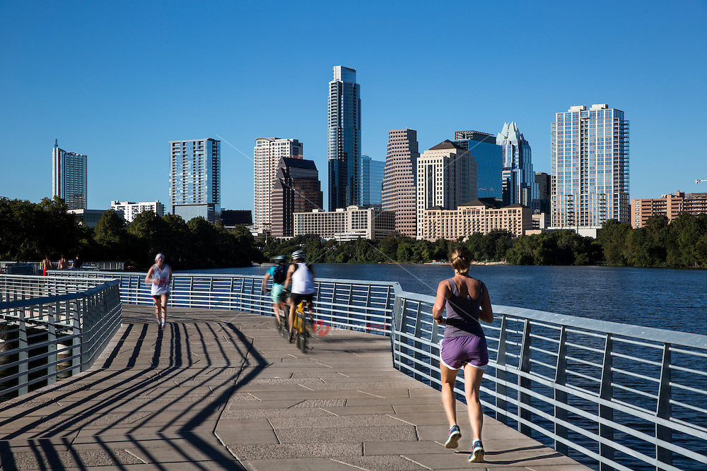 Austin's walkers, runners, and cyclists have claimed The Boardwalk Trail at Lady Bird Lake as their favorite and official trail to exercise on.