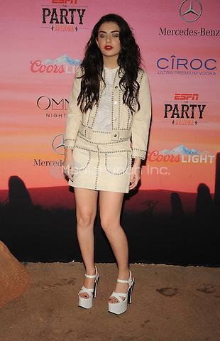 SCOTTSDALE, AZ - JANUARY 30: Charli XCX attends ESPN the Party at WestWorld of Scottsdale on January 30, 2015 in Scottsdale, Arizona . Credit: John Palmer /MediaPunch