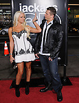 Diva Maryse Ouellet and Mike The Miz Mizanin at The Paramount Pictures' L.A. Premiere of Jack Ass 3-D held at The Grauman's Chinese Theatre in Hollywood, California on October 13,2010                                                                               © 2010 Hollywood Press Agency