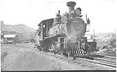 RGS 4-6-0 #20 in Durango.<br /> RGS  Durango, CO  3/1948
