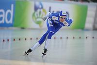 SCHAATSEN: BOEDAPEST: Essent ISU European Championships, 07-01-2012, 5000m Men, Tommi Pulli FIN, ©foto Martin de Jong