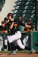 March 16 2009: Grant Green of the USC Trojans during game against the Winthrop Eagles at Dedeaux Field in Los Angeles,CA.  Photo by Larry Goren/Four Seam Images