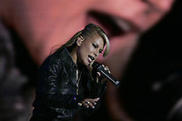American singer ANASTACIA  performs during Rock in Rio festival at Bela Vista park in Lisbon, 4JUNE  2006.