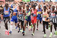 Sir Mo Farrah<br /> at the start of the London Marathon 2019, Greenwich, London<br /> <br /> ©Ash Knotek  D3496  28/04/2019