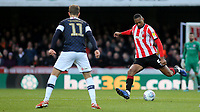 Ethan Pinnock of Brentford in action during Brentford vs Luton Town, Sky Bet EFL Championship Football at Griffin Park on 30th November 2019