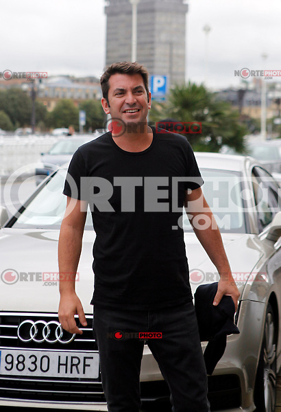 "Arturo Vals arrives to Maria Cristina Hotel for the presentation of his new film ""Futbolin"" during the 61 San Sebastian Film Festival, in San Sebastian, Spain. September 20, 2013. (ALTERPHOTOS/Victor Blanco) /NortePhoto"