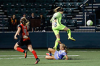 Rochester, NY - Friday July 01, 2016: Katelyn Rowland during a regular season National Women's Soccer League (NWSL) match between the Western New York Flash and the Chicago Red Stars at Rochester Rhinos Stadium.