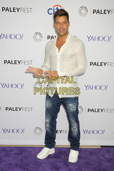 10 September 2015 - Beverly Hills, California - Ricky Martin. 2015 PaleyFest Fall TV Preview - &quot;La Banda&quot; held at The Paley Center.   <br /> CAP/ADM/BP<br /> &copy;BP/ADM/Capital Pictures