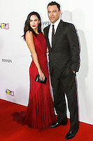 BEVERLY HILLS, CA, USA - OCTOBER 11: Megan Fox, Brian Austin Green arrive at Ferrari's 60th Anniversary In The USA Gala held at the Wallis Annenberg Center for the Performing Arts on October 11, 2014 in Beverly Hills, California, United States. (Photo by Rudy Torres/Celebrity Monitor)